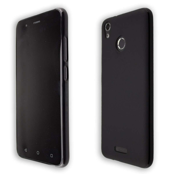 caseroxx TPU-Case for Gigaset GS270 / GS270 Plus with shock protection, colored in black, composed of TPU