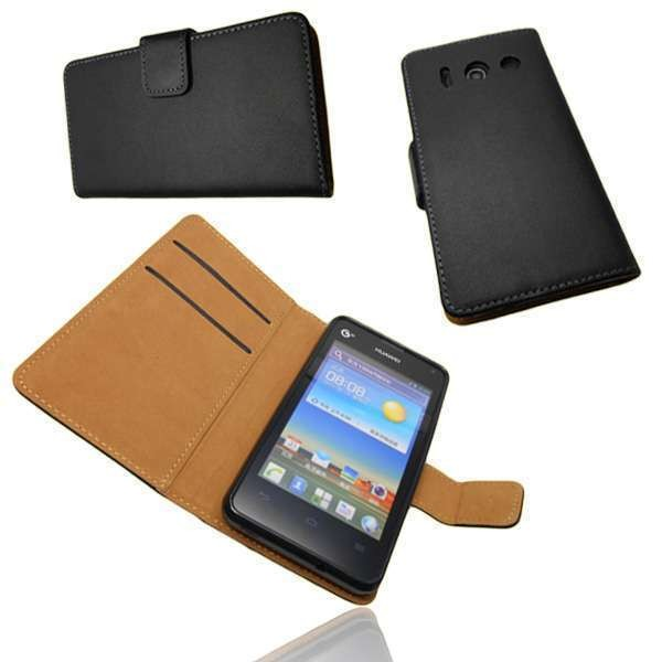 caseroxx Bookstyle-Case for Huawei Y300 in black