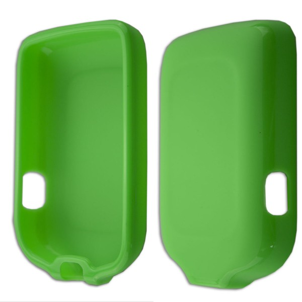 caseroxx TPU-Case for Freestyle Libre 1 / 2 / Insulinx / 14 Day with shock protection, colored in green, composed of TPU